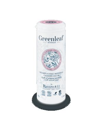 Shampooing Minéral GreenColor GREENLEAF BOTANIQUE