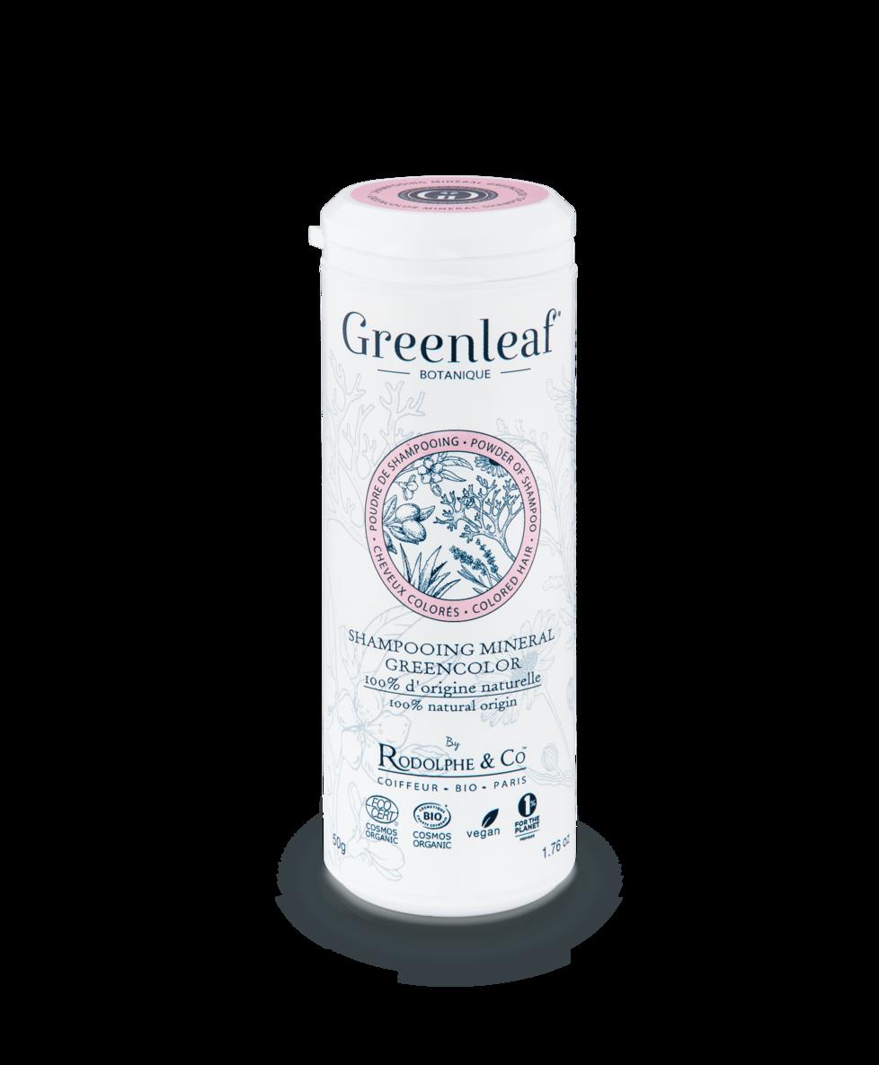 Shampooing Greencolor : GREENLEAF BOTANIQUE